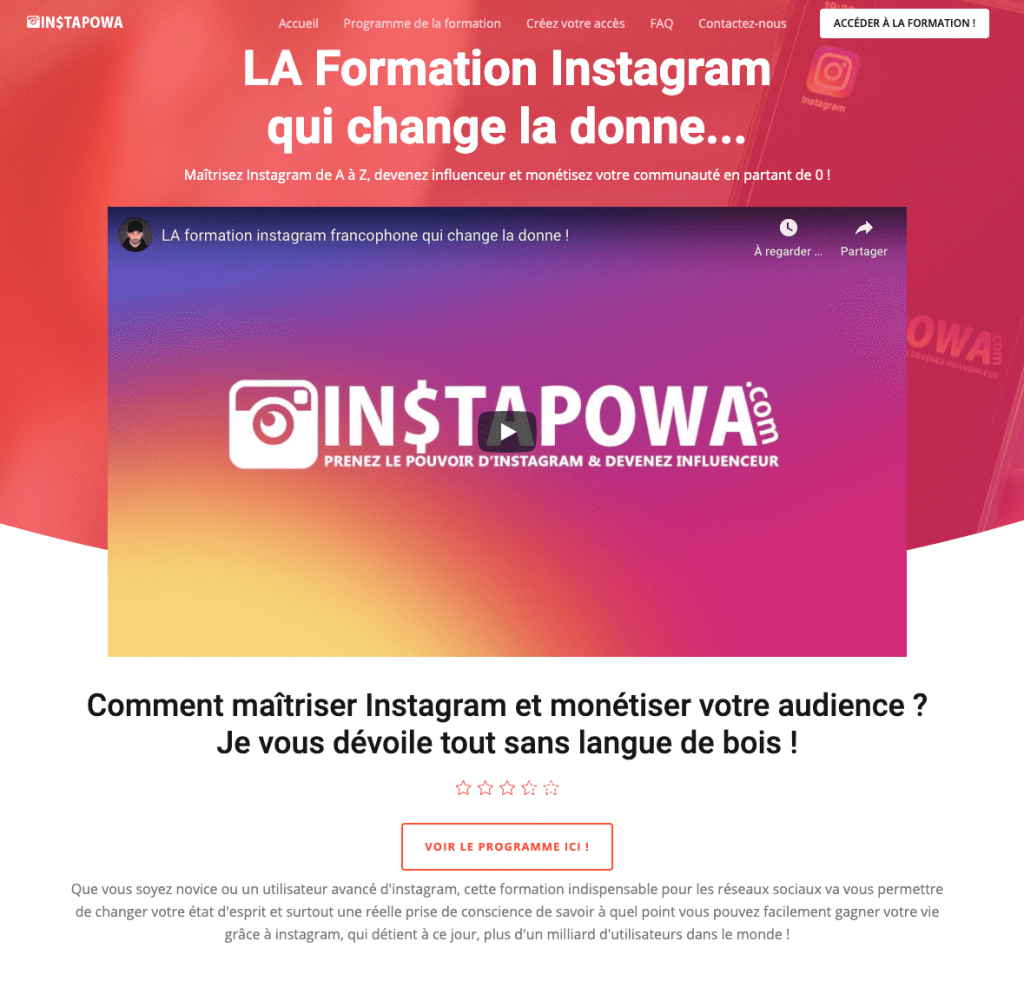 instapowa formation instagram